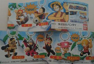 SET de 7 llaveros de One Piece