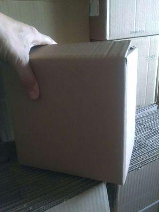 Cajas cartón nuevas 20x20x14cm