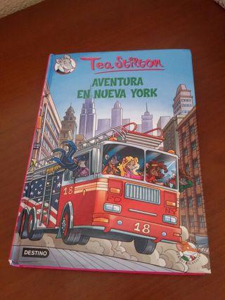 Libro juvenil Tea Stilton - Aventura en Nueva York