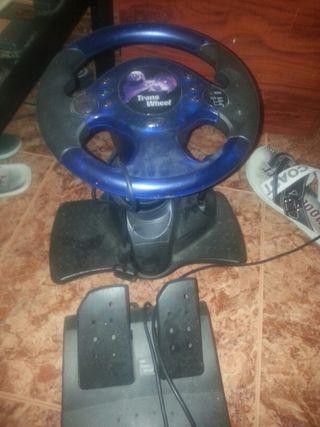 volante con pedales