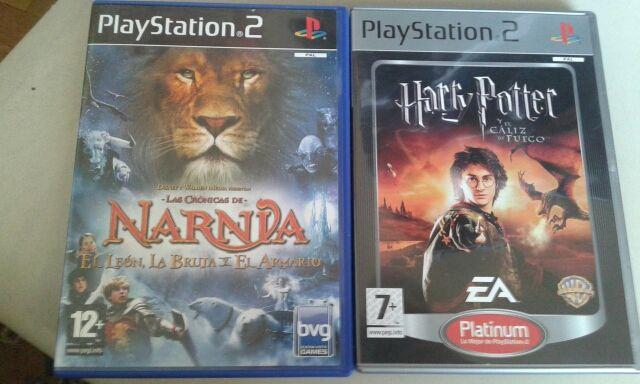Juegos Para Ps2 Harry Potter Y El Caliz De Fuego Y Las Cronicas De