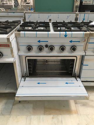 Cocina industrial de segunda mano en m laga en wallapop - Cocinas de gas industriales de segunda mano ...
