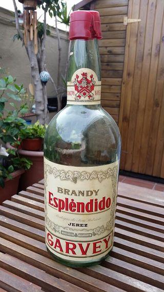 Botella de brandy vintage