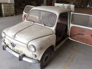 Seat 600 1974 serie D