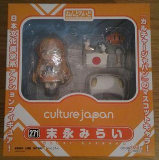 Nendoroid Mirai Suenaga de culture japan