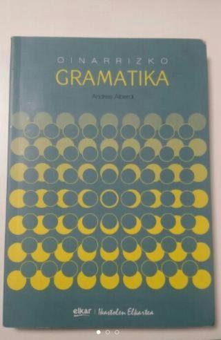 """Libro de texto """"Oinarrizko Gramatika"""""""