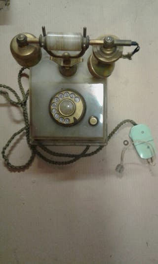 Teléfono vintage de marmol
