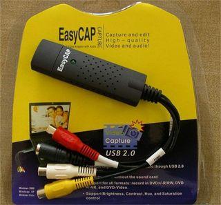 Capturadora de video USB.