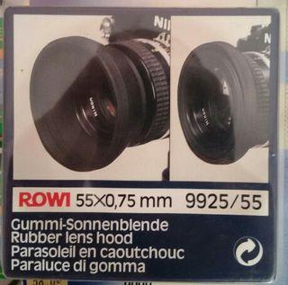 Protector de lente 55mm