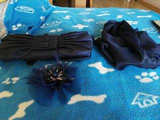 Bolso pañuelo y flor de adorno Zara llevar a fiest