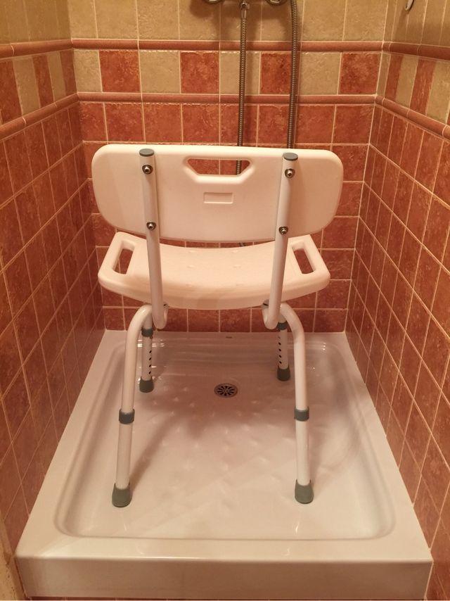 Silla de ducha para personas mayores de segunda mano por - Duchas para mayores ...