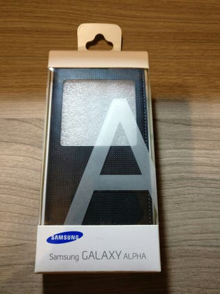 Funda Samsung Sview Cover para galaxy Alpha