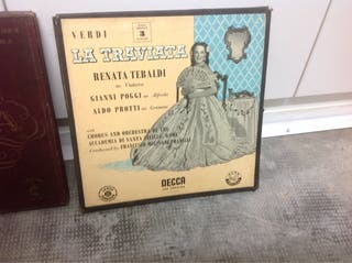 disc Disco Lp Vinilo LA TRAVIATA VERDI