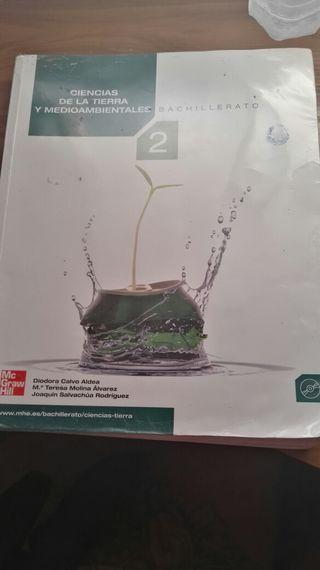 Ciencias de la tierra y medioambientales 2 Bachillerato