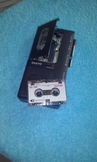 grabadora pequeña a pilas