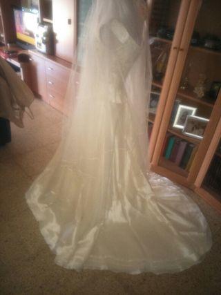 vestido de novia talla 38 de segunda mano en palma de mallorca en