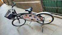 Bicicleta publicitaria en perfecto estado.