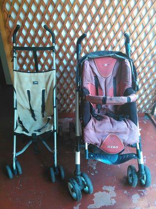Dos sillas de paseo