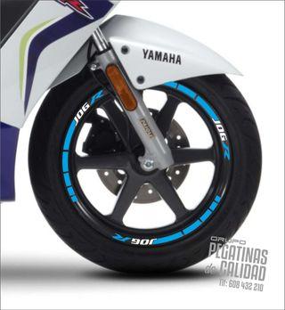 Vinilos Tiras Llanta Moto Yamaha Jog R