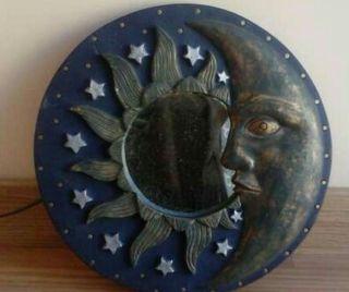 Espejo decorativo con forma de luna y estrellas+ regalo