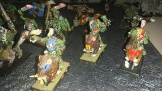 Warhammer orcos