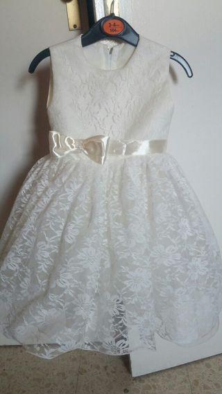 Vestido niña ceremonia 1 año