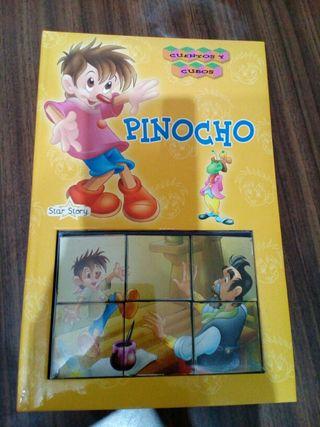 Libro puzzle pinocho.