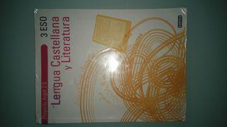 Libro de texto lengua castellana y literatura 3ESO everest