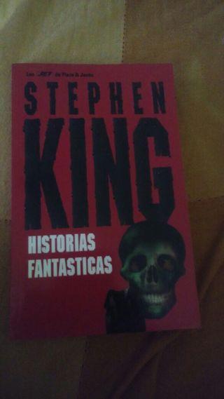 Historias fantásticas de Stephen King.