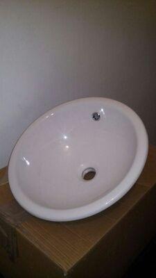 Pila porcelana blanca