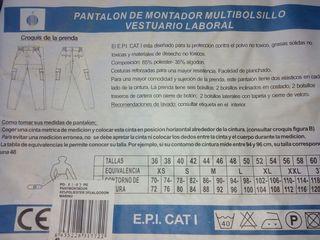 Pantalon laboral