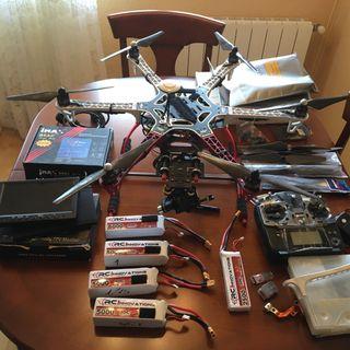 Drone hexacoptero dji