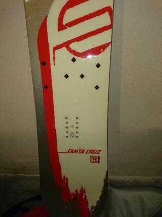 Tabla de Snow Santa Cruz 164cm