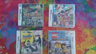 Videojuegos Nintendo 3ds y ds