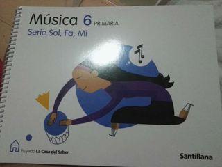 Musica 6 primaria, Santillana