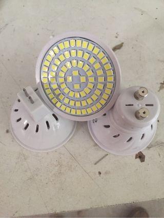 Bombillas led gu10 mr16 luz 7 y 9w