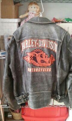 Chaqueta original Harley davidson cuero