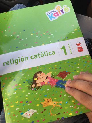 Libro religion 1 primaria
