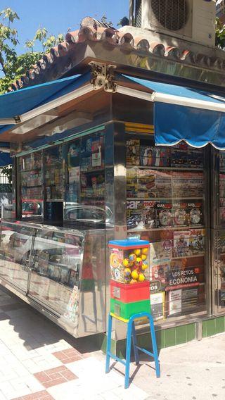 Kiosco prensa revistas