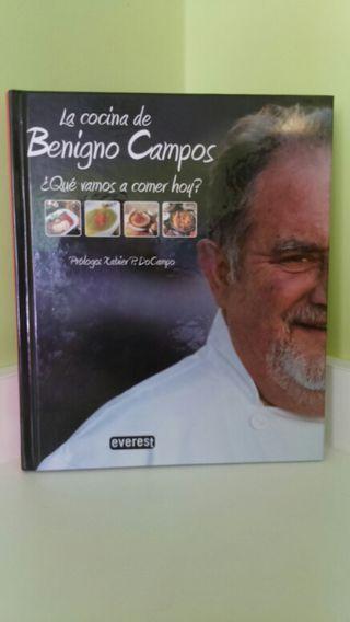 Libro cocina Benigno Campos