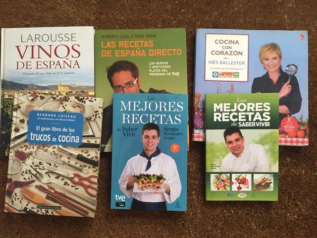Libros Cocina 3 Por 5 De Segunda Mano Por 5 En Barcelona En Wallapop