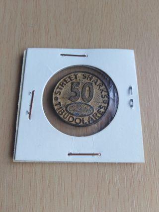 Moneda antigua de Cuetera.