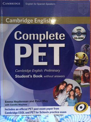 Complete PET B1 Cambridge English