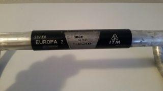 ITM Super Europa 2 Manillar de 42 mm 25 4 Clásico Bicicleta de Carretera Italia ...