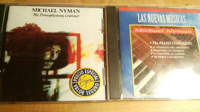 LOTE 6 CDs WIN MERTENS + MICHAEL NYMAN