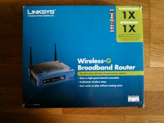 Router Linksys Wireless-G