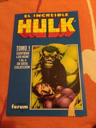 El Increible Hulk.