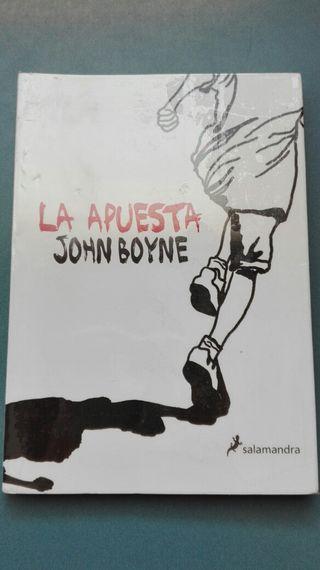 La apuesta, John Boyne editorial Salamandra