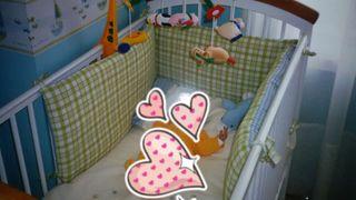 Habitación para bebé completa