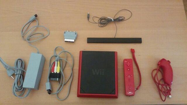 Vendo Wii Mini Roja En Perfecto Estado De Segunda Mano Por 50  U20ac En Madrid En Wallapop